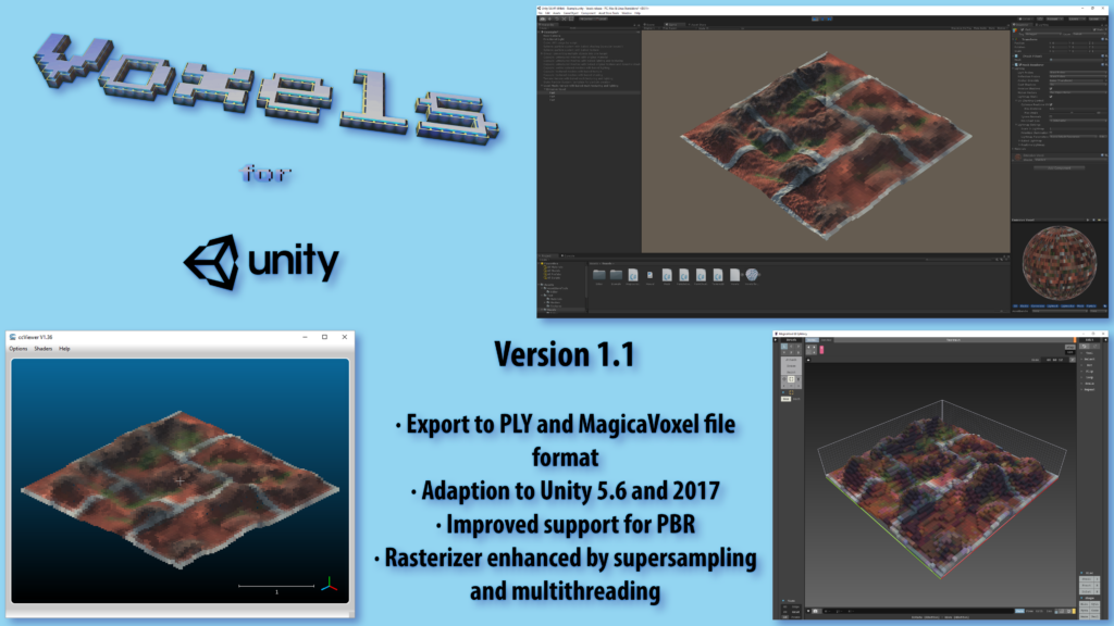 Voxels for Unity 1.1